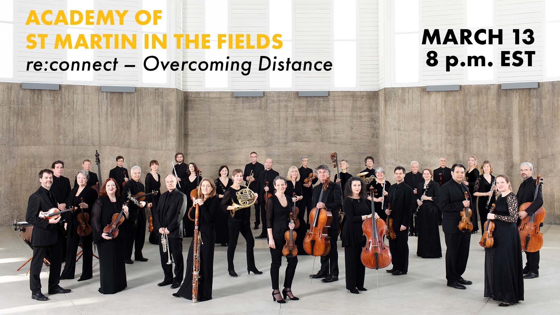 Academy of St Martin in the Fields, re:connect - Overcoming Distance